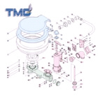 Base Only T/S Tmc Manual Toilet (139262)