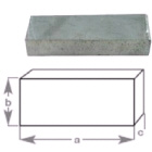 Anode Block Plain 125x38x25mm (191010)