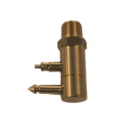 "1/4"" NPT Tank Connector Brass for Johnson/Evinrude 772681 502867, Tempo 220010 - Sierra (S18-8063)"