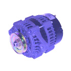 Alternator for Pleasurecraft RA097007B, Crusader 19020608, Indmar 575010, MES 3202M - Sierra (S18-6288)