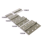 Hinge Butt Stainless Steel 75x40mm Pr (193622)