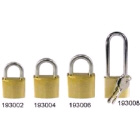 Padlock Brass With Long Stainless Steel Shackle 40mm (193008)