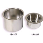 Drink Holder Recessed Stainless Steel 110mm Dia (194107)