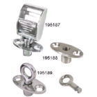 Socket Flush Mount Key Lock Cast Stainless Steel (195188)