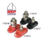 Stud Single Insulated 6mm Red (113515)
