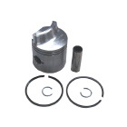 2 Ring .015 OS Bore Inline Piston Kit High Dome - Sierra (S18-4520)