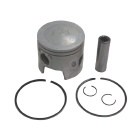 .030 STBD Piston Kit for Johnson/Evinrude 439517, Wiseco 3143S3, Vertex Pistons 2740030 - Sierra (S18-4087)