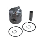 2 Ring .015 OS Bore Inline Piston Kit Low Dome - Sierra (S18-4515)