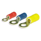 Ring Terminal Yellow 6.4mm 100pk Qkc40 (115363)