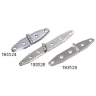 Hinge Strap Pressed Stainless Steel 131x31mm Pr (193528)