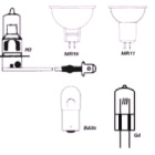 Quartz Halogen Bulb 12V 10w Mr16 (124126)
