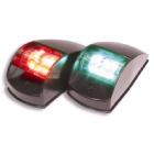 LED Side Mount Navigation Lights - Black (121007)