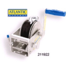 Atlantic Winch 5/1:1 with 7.5m x 5mm Cable (211920)