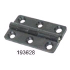 Hinge Butt Black Nylon 38x22mm Pr (193628)