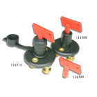 Key Type Battery Switch - With Boot (114314)