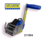 Winch Atlantic Trlr Compact 3:1 4mm Cbl (211902)