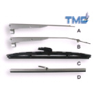 Stainless Steel Wiper Arm, 270-340mm (116064)